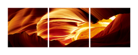 Antelope Canyon 3 Panel Triptych