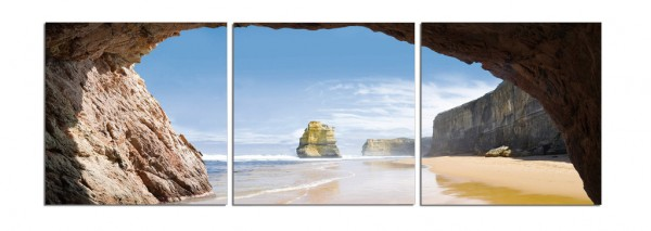 Beach Cove Triptych
