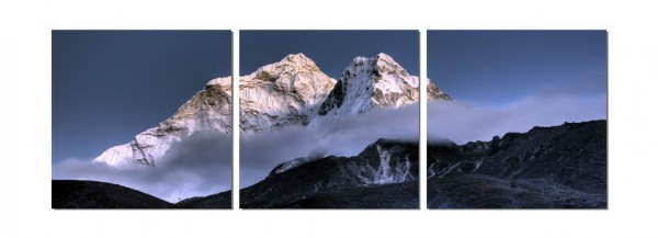 Mount Everest Triptych