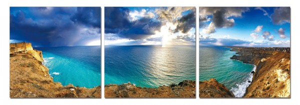 Cliff View Triptych