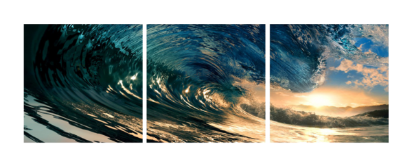 The Wave Triptych