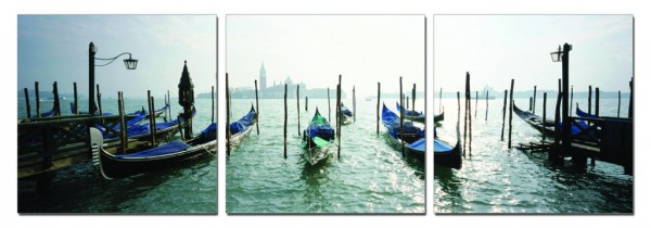 Going By Gondola Triptych