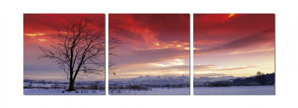 Mountains In The Distance Triptych