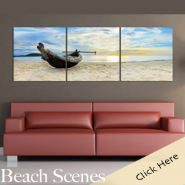 Beach Scene Photography Photo Wall Art