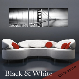 Black and White Photography Photo Wall Art